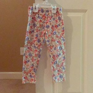 Other - Cute flower print pants